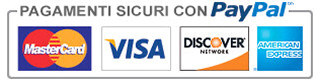 Paga con carta di credito e PayPal